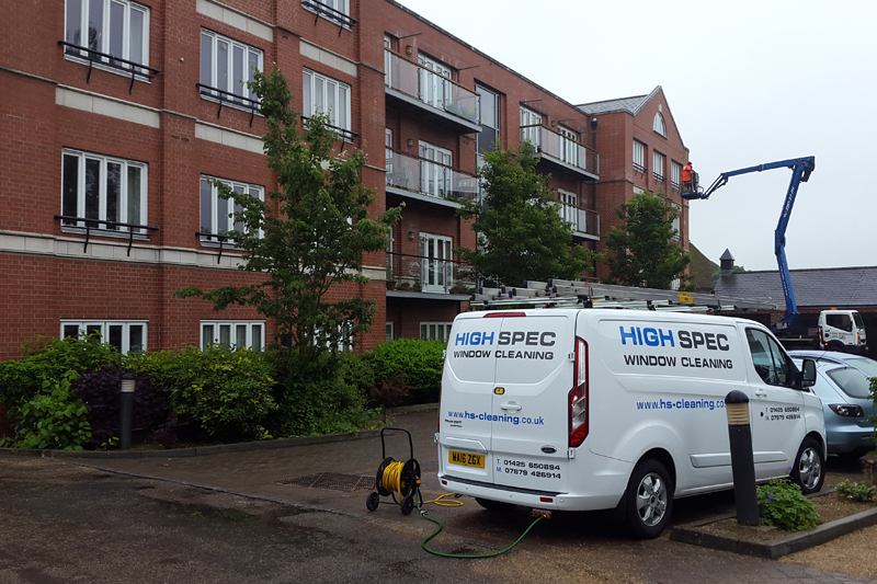 High Spec Window Cleaning